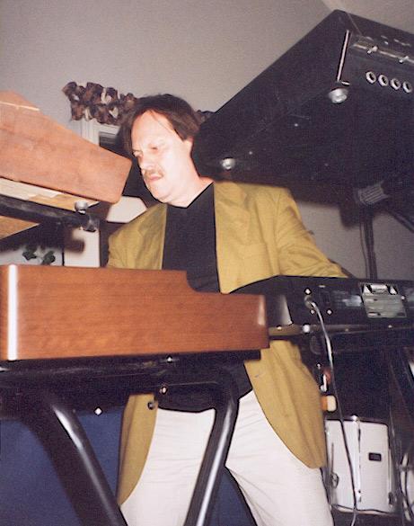 Pelle spelar Hammond